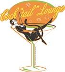 Cocktail Girl in Martini glass