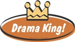 Unique Baby Gifts - Vintage Drama King (Boys)