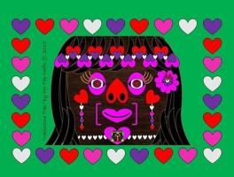 Limited Edition Seasonal Items-Valentines Tiki- AV