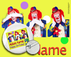 *CLOWN SITE SAMPLE * Click Me!