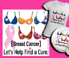 Breast Cancer Logo Fund Cure - Bikini Art