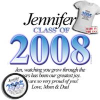 Graduations Graduate Class of 2008 2009 T-shirts