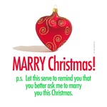 MARRY Christmas funny
