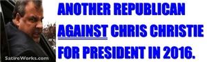 NO CHRISTIE IN 2016