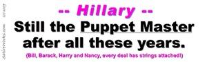 Puppet Master Hillary