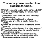 Married to a Blacksmith