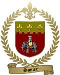 SONIER Family Crest