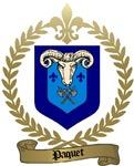 PAQUET Family Crest