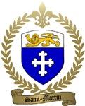SAINT-MARTIN Family Crest