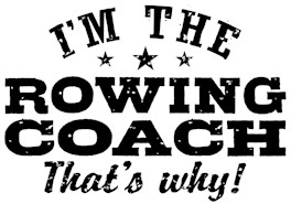 Funny Rowing Coach t-shirt