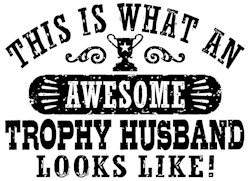 Awesome Trophy Husband t-shirt