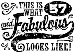 57th Birthday t-shirt