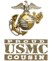 Proud USMC Cousin t-shirts