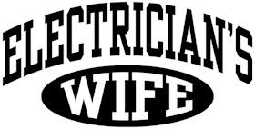 Electrician's Wife t-shirt
