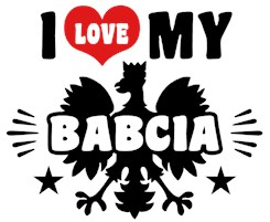 I Love My Babcia t-shirt