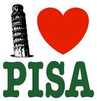 I Love Pisa t-shirt