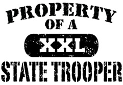 Property of a State Trooper t-shirt