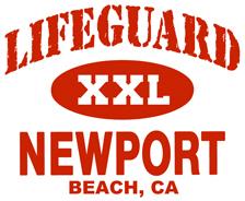 Lifeguard Newport Beach t-shirt