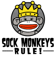 Sock Monkeys Rule T-shirts