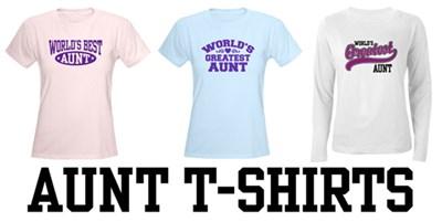 Aunt t-shirts