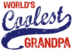 World's Coolest Grandpa t-shirts