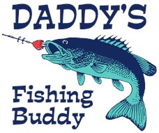 Daddy's Fishing Buddy t-shirt