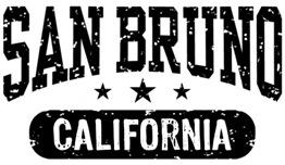 San Bruno California t-shirts