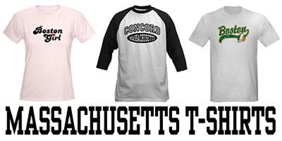 Massachusetts t-shirts