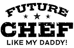 Future Chef Like my Daddy t-shirt