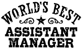 World's Best Assistant Manager t-shirt