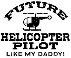 Future Helicopter Pilot t-shirt