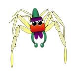 blushing spider