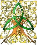 Celtic Art Trinity Tree