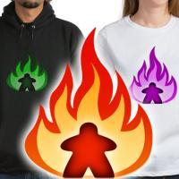 Fiery Meeples