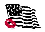 Shoes and Stripes Flag
