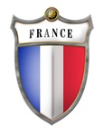 French Flag Shield