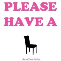 Please Have A Seat. (Pink)