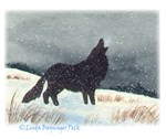Snowdusted Wolf