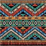 Vintage Aztec Pattern