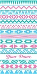Personalized Tribal Pattern