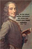 Enlightenment Philosopher: Voltaire Moderation