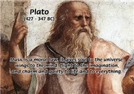 Music, Philosophy, Writing: Plato