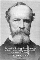 Power of Positive Thinking: William James