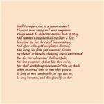 Sonnet number 18