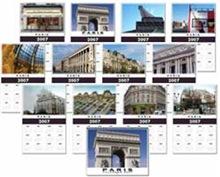 Paris Calendars 2013