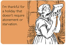 Funny Thanksgiving Cards: Thankful Holiday