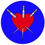Pierced Heart/3 of swords