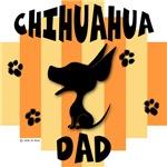Chihuahua Dad Yellow/Orange Stripe