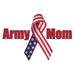 Army Mom (RWB Ribbon)