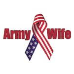 Army Wife (RWB Ribbon)